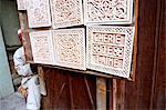 Maroc, Marrakech, souk, graveur