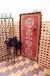 Maroc, Marrakech, à l'intérieur d'une maison