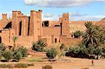 Morocco, High Atlas, near Ourzazate, Ait-Ben-Haddou
