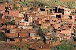 Maroc, village près de Marrakech