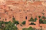 Maroc, haut Atlas, près d'Ouarzazate, Aït-Ben-Haddou