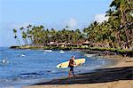 États-Unis, Hawaï, l'île de Maui, surf