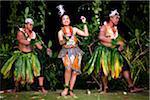 Traditional Dancers at Liku'alofa Resort, Liku'alofa, Tongatapu, Kingdom of Tonga