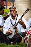 Musician, Tonga National Cultural Centre, Nuku'alofa, Tongatapu, Kingdom of Tonga