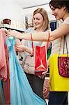Deux femmes Shopping
