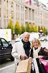 Portrait of a senior couple, Stockholm, Sweden.