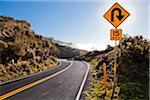 Haleakala Crater Road, Maui, Hawaii, USA