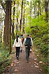Amis de randonnée, Hood River, Oregon, Etats-Unis