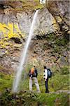 Freunde Wandern, Hood River, Oregon, USA