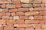 Grès mur, Wertheim, Bade-Wurtemberg, Allemagne