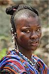 Portrait of Masai Warrior