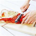 Lobster party, Sweden.