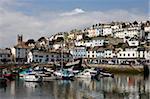 Brixham Harbour, South Devon, England, United Kingdom, Europe
