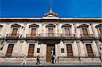 Colegio de San Nicolas, datant de 1540, l'Université de Michoacan, première université en Amériques, Morelia, patrimoine mondial de l'UNESCO, Michoacan État, Mexique, Amérique du Nord