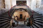 Escalier dans le Colegio de San Nicolas, datant de 1540, l'Université de Michoacan, première université en Amériques, Morelia, patrimoine mondial de l'UNESCO, Michoacan État, Mexique, Amérique du Nord