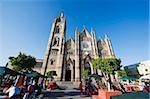Templo Expiatorio, Guadalajara, au Mexique, en Amérique du Nord