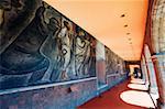 Murals at Antiguo Colegio de San Ildefonso, District Federal, Mexico City, Mexico, North America