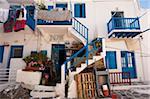 La ville de Mykonos, Chora, Mykonos, Cyclades, îles grecques, Grèce, Europe