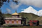 Muktinath and Dhaulagiri Himal, Muktinath Valley, Annapurna Conservation Area, Mustang District, Dhawalagiri (Dhaulagiri), Western Region (Pashchimanchal), Nepal, Asia