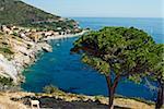 Pomonte, Isola d'Elba, l'île d'Elbe, Toscane, Italie, Europe