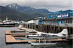 Hydravion à Juneau, sud-est de l'Alaska, États-Unis d'Amérique, Amérique du Nord