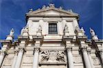 L'église St. Gesuiti (La Chiesa dei Gesuiti), Gesuiti, Venise UNESCO World Heritage Site, Veneto, Italie, Europe