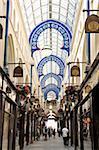 Interior of Thorntons Arcade, Leeds, West Yorkshire, England, United Kingdom, Europe