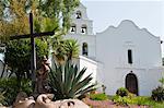 Mission Basilica San Diego de Alcala, San Diego, California, United States of America, North America