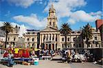 Marché à l'extérieur de la mairie, City Bowl, Cape Town, Western Cape, Afrique du Sud, Afrique