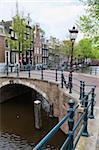 Reguliersgracht, Amsterdam, Pays-Bas, Europe