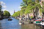 Prinsengracht canal, Amsterdam, Netherlands, Europe