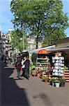 Bloemenmarkt (Blumenmarkt), Amsterdam, Niederlande, Europa