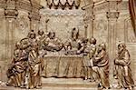 Jésus au Temple, Abbaye de Melk, Melk, Basse Autriche, Autriche, Europe