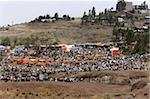 Lalibela market, Lalibela, Ethiopia, Africa