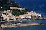 Vue d'Amalfi, Amalfi Coast, UNESCO World Heritage Site, Campanie, Italie, Europe