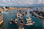 The harbour of Algiers, Algeria, North Africa, Africa