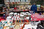 Les Puces de Saint-Ouen marché aux puces, Porte de Clignancourt, Paris, France, Europe
