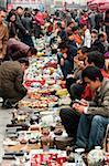 Crafts stalls, Panjiayuan flea market, Chaoyang District, Beijing, China, Asia