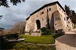 Franciscan sanctuary of La Foresta, Rieti, Lazio (Latium), Italy, Europe