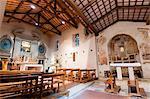 Église de St. Fabiano, sanctuaire franciscain de La Foresta, Rieti, Latium (Lazio), Italie, Europe