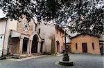 Franciscan Sanctuary of Fonte Colombo, Rieti, Lazio (Latium), Italy, Europe