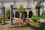 Jardins de la villa Rufolo, Ravello, Amalfi Coast, patrimoine mondial de l'UNESCO, Campanie, Italie, Europe