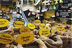 Coffee for sale in Fremantle Market, Fremantle, Western Australia, Australia