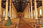 Burundi. Locals worship at a Christian mission in rural Burundi.