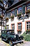 Oldtimer, museum, Rudesheim, Rhine District, Hesse, Germany