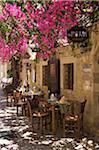 Taverne à Rethymnon, Crète, Grèce