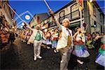 Parade of Sao Joao Day. Angra do Heroismo. Terceira, Azores islands, Portugal