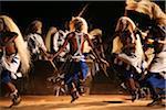 Kigali, Rwanda. The Intore dancers perform at FESPAD Pan African dance festival.
