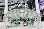 Singapour, Singapour, Orchard Road. L'ION Orchard Mall, dans les magasins populaires de Orchard Road.