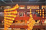 Singapour, Singapour, Orchard Road. Centre commercial Paragon sur Orchard Road décoré pour le nouvel an chinois.